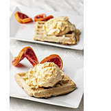 Icecream, Dessert, Waffle