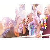 Celebrations, Cheering, Music Festival