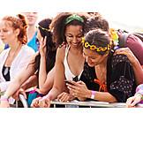 Mobile Communication, Sms, Festival Goer