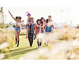 Summer, Friends, Music festival