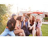 Sommer, Spaß, Freundinnen