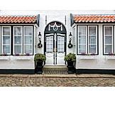 Wohnhaus, Hauseingang