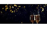 Champagner, Neujahr