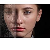 Woman, Identity, Split Personality