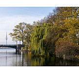 Autumn, Hamburg, Alster