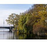 Autumn, Hamburg, Alster