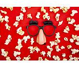 Party, Mask, Popcorn