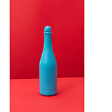 Painted, Champagne bottle, Product design