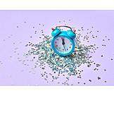 Alarm Clock, New Years Eve, 5 Before 12