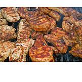 Grillfleisch, Barbecue, Grillsteak