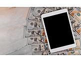 Finanzen, Online, Tablet-pc
