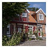 Wohnhaus, Fachwerkhaus, Lübeck