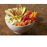 Healthy diet, Buddha bowl