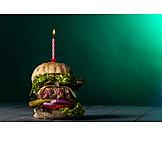 Birthday, Cheeseburger