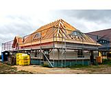 Hausbau, Dachkonstruktion