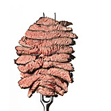 Beef steak, Meat fork