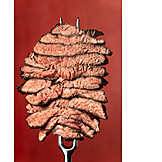 Beef Steak, Meat Fork, Barbecue