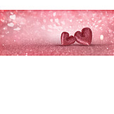 Love, Glitter, Heart