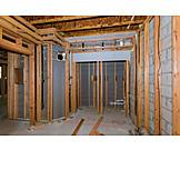 Building Construction, Construction Site, Cellar
