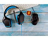Computer, Headphones, Accessories, Gaming