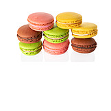 Multi Colored, Almond Biscuits, Macaron