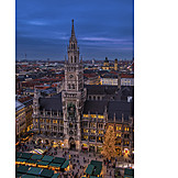 Munich, New Town Hall, Marienplatz