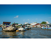 Handel, Mekong, Cai Rang