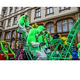 Karneval, Karnevalsumzug, Basler Fasnacht