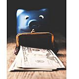 Money, Savings, Dollar