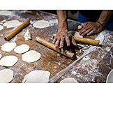 Preparation, Rolling Pin, Jiaozi