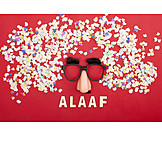 Mask, Carnival, Confetti, Alaaf