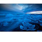 Glacial Lake, Ice, Glaciers