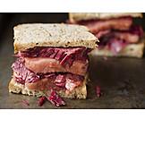 Cholesterin, Sandwich, Rindfleisch