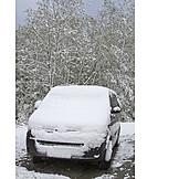Car, Snowy