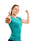 Fitness, Muscles, Thumbs Up