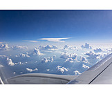 Airplane, Above The Clouds, Airliner