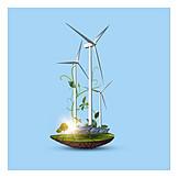 Alternative Energie, Stromerzeugung, Regenerative Energie