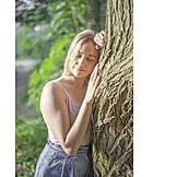 Frau, Natur, Erholung