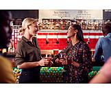 Drink, Bar Counter, Friends