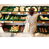 Shopping, Vegetable, Farm Shop