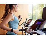 Fitness, Treadmill, Gym, Workout