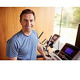 Smiling, Sportsman, Workout