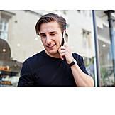Man, On The Phone, Smart Phone