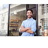 Cafe, Self confident, Owner