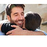 Relationship, Hug, Homogamous