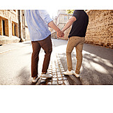Hand Halten, Partnerschaft, Gleichgeschlechtlich
