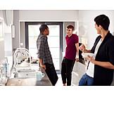 Kitchen, Breakfast, Students, Roommate