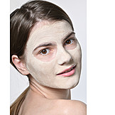 Maske, Hautpflege, Gesicht