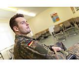 Ausbildung, Soldat, Klassenzimmer, Bundeswehr