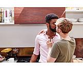Couple, Love, Kissing